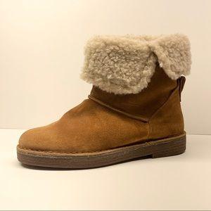 Clarks Drafty Haze Suede Boots size 6.5